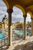 Szechenyi Thermal Baths  Budapest  Hungary  Europe
