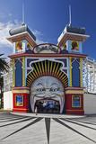 The Colourful Entrance to Luna Park  Saint Kilda  Melbourne  Victoria  Australia