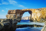 Mediterranean Europe  Malta  Gozo Island  Dwerja Bay  the Azure Window Natural Arch