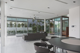 Open Plan Interior of Residential House on Sentosa Island  Singapore  South East Asia