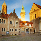 Germany  Lower Saxony  Braunschweig Old Town Square