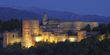 The Alhambra Is a Palace and Fortress Complex Located in Granada  Andalusia  Spain