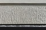 Standing Blade Water Feature on Lower Terrace in Modern Garden