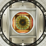 Dome of the Romanesque Revival Styled Queen Victoria Building  Sydney  New South Wales  Australia
