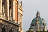 Wiener Musikverein (1866-9) and Karlskirche  Vienna  Austria
