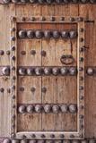 Ornate Door Detail of Jabrin Fort  Jabrin  Nizwa  Ad Dakhiliyah Governorate  Oman