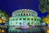 Eurasia  Caucasus Region  Armenia  Yerevan  Opera House  Statue of Flute Player Aram Khachaturian