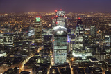The City of London Seen from the Viewing Gallery of the Shard