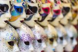 Europe  Italy  Veneto  Venice  Souvenir Venetian Carnival Masks