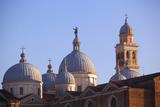 Italy  Veneto  Padua Detail of the Basilica of StGiustina