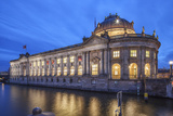 The Bode Museum on the Museum's Island in the Centre of Berlin the River Spree in the Foreground