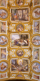Italy  Campania  Naples a Painted Church Ceiling