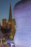 Facade of the Selfridges Department Store in Birmingham  England