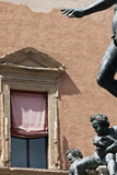 Architectural Detail of Statue Nettuno