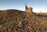 Old Tin Mine Workings  Botallack  Pendeen Cornwall  England