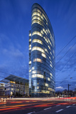 The Landmark Eliptical Commercial Office Building Gap at Graf Adolf Platz in Dusseldorf