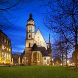 Germany  Saxony  Leipzig Thomaskirche