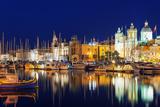 Mediterranean Europe  Malta  the Three Cities  Vittoriosa (Birgu)  Grand Harbour Marina