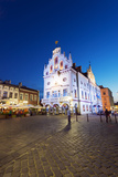 Europe  Poland  Rzeszow  Rynek Town Square  Neo-Gothic Style Town Hall
