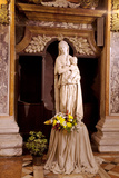 Italy  Veneto  Padua Statue of a Madonna in the Church of San Gaetano