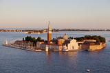 Italy  Veneto  Venice the Island of San Giorgio Maggiore with its Famed Church Unesco