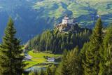 Europe  Switzerland  Graubunden  Engadine  Scuol Tarasp  Scuol Castle  (Schloss Tarasp)