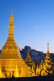 South East Asia  Myanmar  Yangon  Sule Paya Pagoda