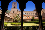 Italy  Sicily  Monreale the Cathedral Form under the Monastery Arches