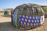 Kenya  Marsabit County  Kalacha Semi-Permanent Dome-Shaped Homes of the Gabbra at Kalacha
