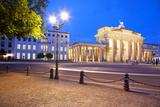 Germany  Berlin Brandenburg Gate and Environs