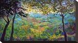 Vineyard View Tableau sur toile par Erin Hanson