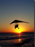 Sunset With Flying Style