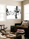 Black 5 Toile Murale Géante par Diane Lambin