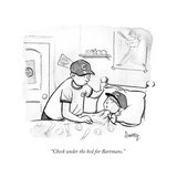 """""""Check under the bed for Bartmans"""" - Cartoon"""