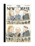 The New Yorker Cover - October 31  2016