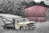 Yellow Truck BW