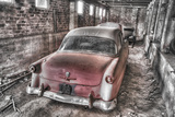Red Ford BW