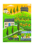 Sunflower Inspiration Farm Cheryl Bartley