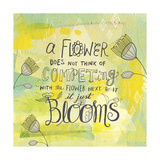 Blooms Quote