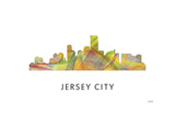 Jersey City New Jersey Skyline