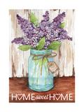 Lilacs Home Sweet Home Jar