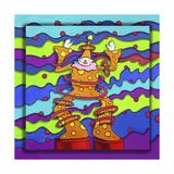 Pop-Art Clown