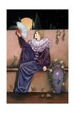 Pierrot with Fan