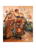 Thumbelina and Mrs Mouse
