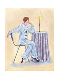 Pierrot at a Table