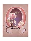 Art Deco Magnolias