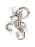 Aquatic Seahorse Pencil