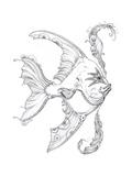 Aquatic Fish 1 Pencil