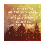 I Believe Main
