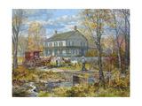 Autumn at the Schneider House